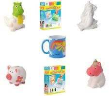 Paint Your Own Piggy Bank Mug Dinosaur Unicorn Marbling Ceramic Xmas Gift