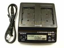 Sony ACSQ950 AC/DC Quick Battery Charger for MiniDV Camcorders (AC-SQ950)