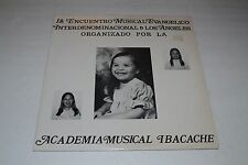 Academia Musical Ibacache~Musical Evangelico~Xian~Religious IMPORT~Christian