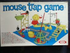 Vintage Mouse Trap Board Game by Ideal 1963 Retro Boxed  Complete Rare Game