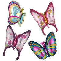 Butterfly Shape Foil Balloon Birthday Wedding Anniversary Party 4 Pattern