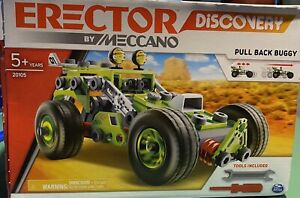 Latest Kids Toys Meccano 10 in 1 Rally Racer Set Birthday Party Child Gift FF