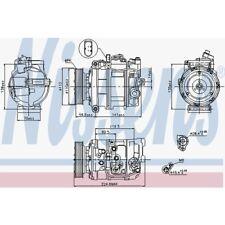 Nissens Kompressor, Klimaanlage VW Phaeton,Touareg. Audi Q7 89091