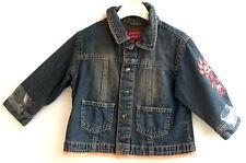 SANETTA leichte Mädchen Jeans - Jacke Gr. 104 Neu UVP 39,95 € Nr. 97