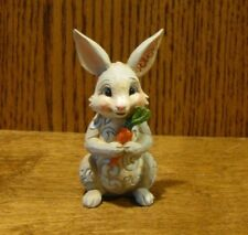 Jim Shore Heartwood Creek Mini's #6003621 BUNNY with CARROT New Retail Store