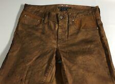 Polo Ralph Lauren Womens Jeans Equestrian Stirrup PantS Cotton 28 MSRP $598