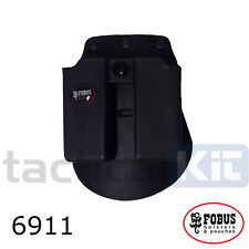 Genuine Fobus Double Pistol Paddle 9mm Single Stack Mag Pouch  6911ND