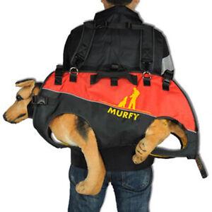Haustier Rucksack Hunderucksack Tragerucksack für Rettungshunde, behinderte