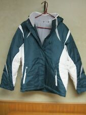 Womens Energy Zone green/white down fill winter jacket size Small New with Tags