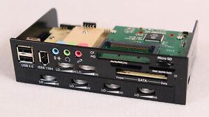 PC Fronteinschub Scythe Kama Panel 2 mit Lüftersteuerung und IEEE 1394