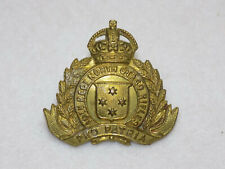 Original Wwi New Zealand Army 10th North Otago Rifles Regiment Cap Badge