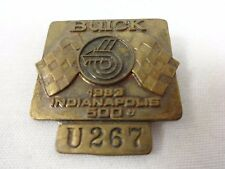 1983 Indianapolis 500 U267 Bronze Pit Badge Clasp Is Broken Tom Sneva