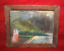 Beautiful And Decorative Wooden Hand Carved Painted Picture Photo Frame