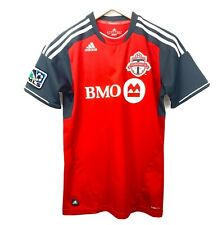 Adidas Toronto FC MLS Red Short Sleeve Soccer Jersey Size Large Boys