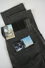 Nudie Jeans Dünn Finn Schlecht Schwarz Men ' S W28/L32 Slim Stretch-Jeans #0587