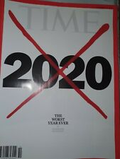 NEW TIME Magazine:  The Worst Year Ever,Pandemic, Protests, 14 December 2020