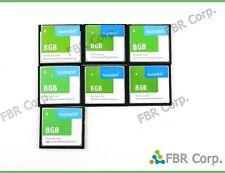 Lot 7 CF 8GB CompactFlash Industrial Memory Card Compact Flash Digital Camera