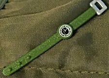 1:6 Scale Military Green & Silver Watch Plastic Watch Band & Buckle Soldier