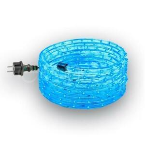 LED Lichtschlauch 14m blau mit 420 LED Lichterschlauch Leuchtschlauch