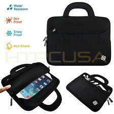 "KOZMICC 7.9"" Black Sleeve Case Bag Pouch w/ Handle for Apple iPad Mini 3, 2, 1"