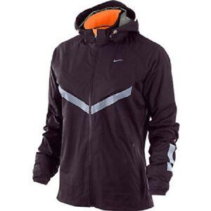 Nike Men's Vapor 5 World Record Running Jacket PortWine/TotalOrange 465389-644 L