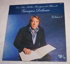 LP: Les Plus Belles Musiques de Films de Georges Delerue (1976)