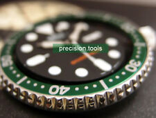 Green Color Replacement Insert For 7S26 Scuba skx007 009 Sub 16610LV Look Parts