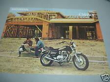 1982 HONDA CM450E  FACTORY BROCHURE NEW NOS