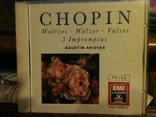 Chopin: Waltzes, Impromptus / Agustin Anievas by Agustin Anievas (CD) C