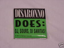 Vintage Disaronno Di Sarita Promo Pin - Button..1995