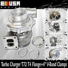 EMUSA T72 Turbo Charger TurboCharger .84AR P Trim T4 Supra RX7 RX8 7MGTE