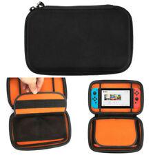 for Nintendo Switch Hard Shell Carrying Display Case Eva Plain Bag Cover Black