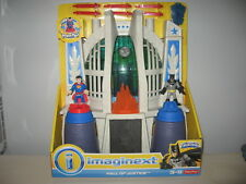 DC Super Friends Imaginext HALL OF JUSTICE Playset w/ Superman & Batman Sealed