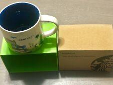 Kentucky You Are Here (YAH) 14 Oz. Starbucks Mug. Original and NWT NIB