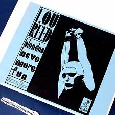ORIGINAL 1975 LOU REED BLONDES VINYL LP ANDY WARHOL'S THE VELVET UNDERGROUND NM