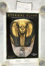 Eternal Egypt Poster Print Mummy Mask Satdjehuty Art Museum Exhibition Limited