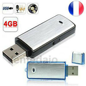 Micro Spy USB Key Recorder Voice recorder 4GB Compact