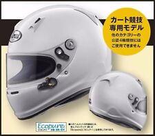 New!! ARAI SK-6 PED RACING CART Helmet SNELL K2015 Various Size Japan Import