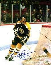 Derek Sanderson Autographed Boston Bruins 8x10 Photo NHL SGC