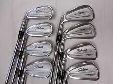 LH Titleist 714 CB Forged 3-PW Iron Set Dynamic Gold S300 Stiff Steel Irons Used