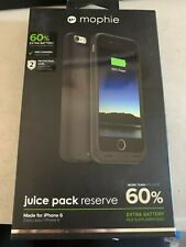 Mophie iPhone 6 - Juice Pack Charging Cover Case - BLACK