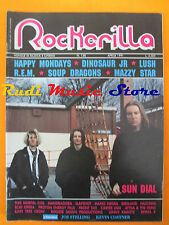 rivista ROCKERILLA 128/1991 Sun Dial Dinosaur Jr. Happy Mondays Lush * No cd