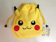 Mochila saco Pikachu Pokemon Go Peluche Plush Bag niños kids videojuego Game