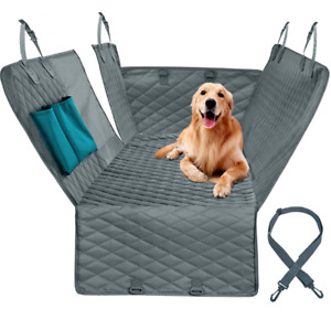 Dog Car Seat Cover Mesh Waterproof Pet Carrier Cushion Protector With Zipper Mat