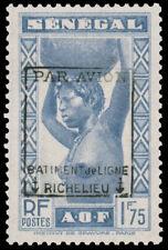Senegal #Mi177 I MHR EUR750.00 Liberation Richelieu [Signed Sanabria]