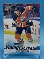 🔥🔥🏒Joel Persson Young Guns 2019-20 Upper Deck # 497💥🌋Edmonton Oilers Phenom