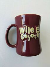 Wile E. Coyote 3D Mug Cup Looney Tunes 1999 Warner Bros 22 Years Old Rare