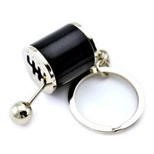 Mini Coche Negro gear knob gear stick gear shift Gear Box Metal Llavero Key Chain