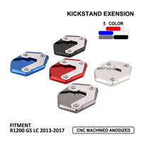 Side Stand Kickstand Extension Pad Plate For BMW R1200 GS LC 2013-2017 14 15 16