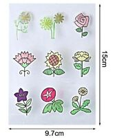 Clear Silicone Stamps for Craft Cardmaking Scrapbooking - Flowers